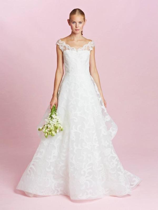 Oscar de la Renta Bridal Fall 2015 7