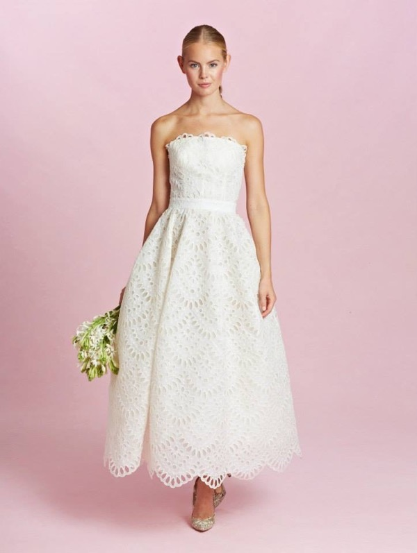 Oscar de la Renta Bridal Fall 2015 8