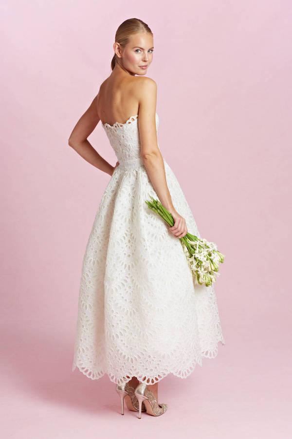 Oscar de la renta bridal 2015-