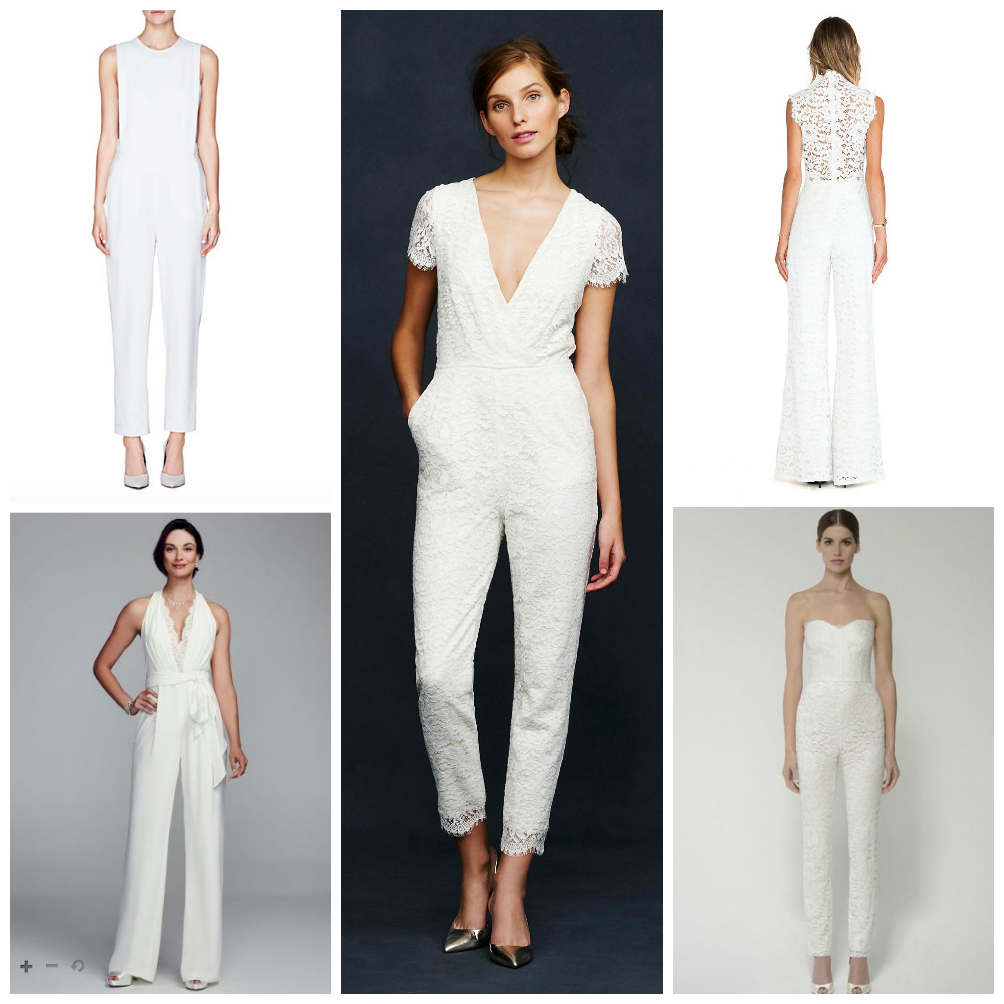 Wedding Bridal Jumpsuits bridal jumpsuits and pantsuits aisle perfect jumpsuits