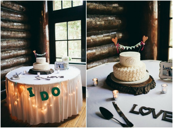 DIY cake table