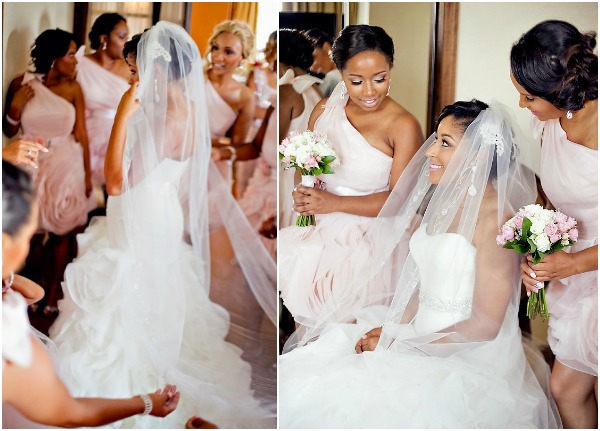 Pink and Silver Summer Wedding -aisleperfect