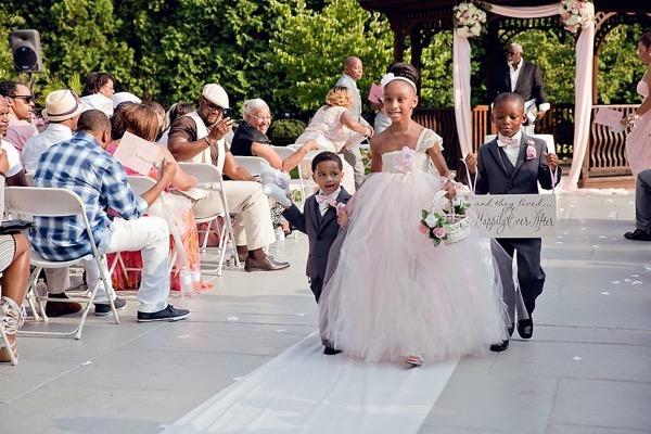 Pink and Silver Summer Wedding by UBARA 14