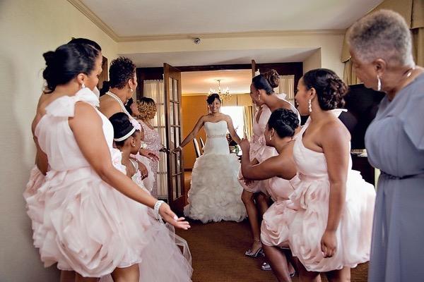 Pink and Silver Summer Wedding by UBARA 2