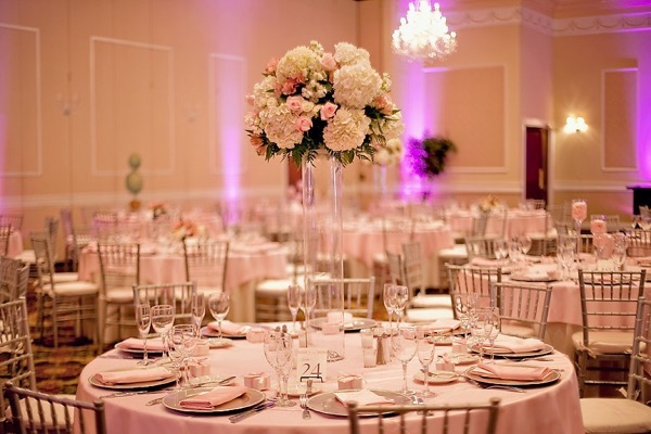 Pink and Silver Summer Wedding by UBARA 25