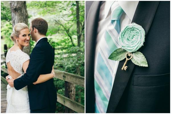 Real wedding by rachel osborn