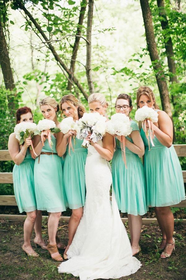 Sweet Mint Wedding 64
