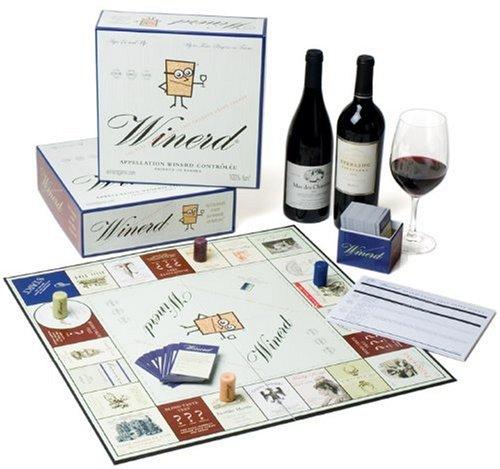 Wine and Board Game via Amazon.com