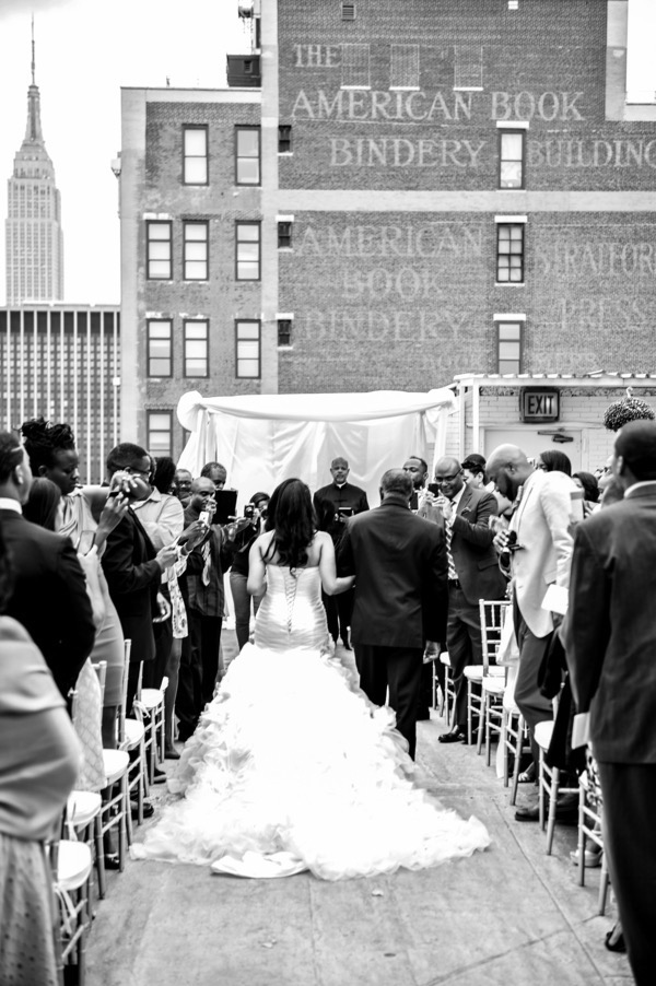 Chic City Wedding at Studio 450 40