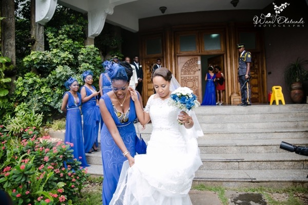 Outdoor Lagos Wedding by Wani Olatunde 17