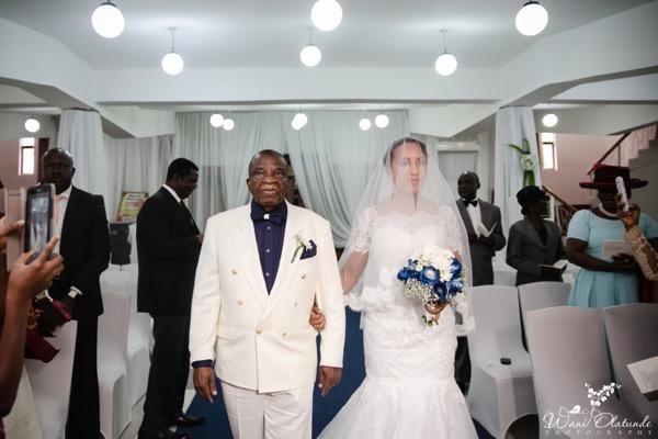Outdoor Lagos Wedding by Wani Olatunde 22