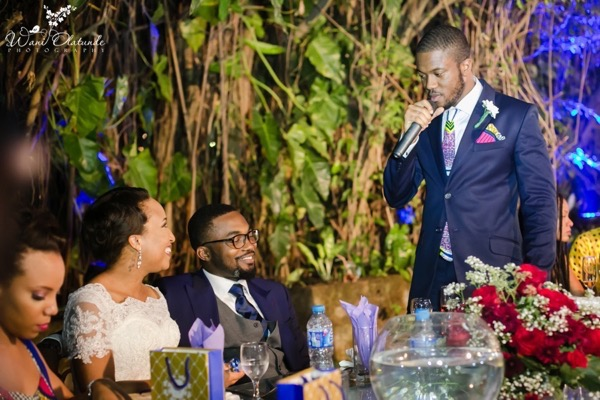Outdoor Lagos Wedding by Wani Olatunde 55