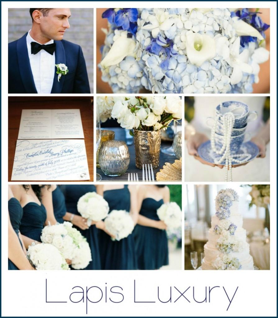 Lapis Luxury Wedding inspiration