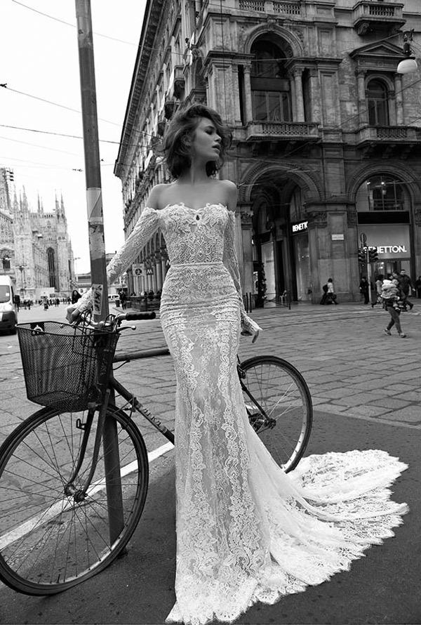 2015 wedding trends - sleeved wedding dresses