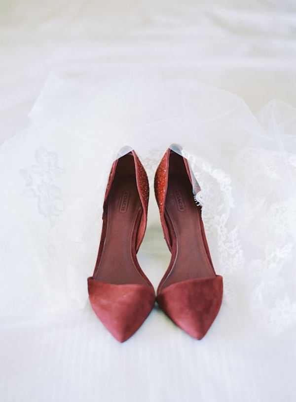 Marsala Wedding Shoes
