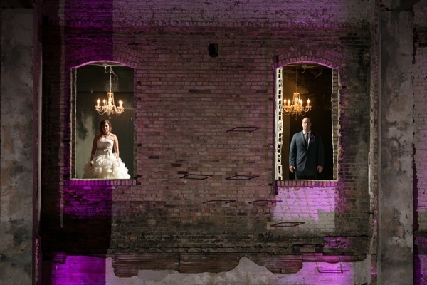 Sparkly Purple and Gold Wedding 64
