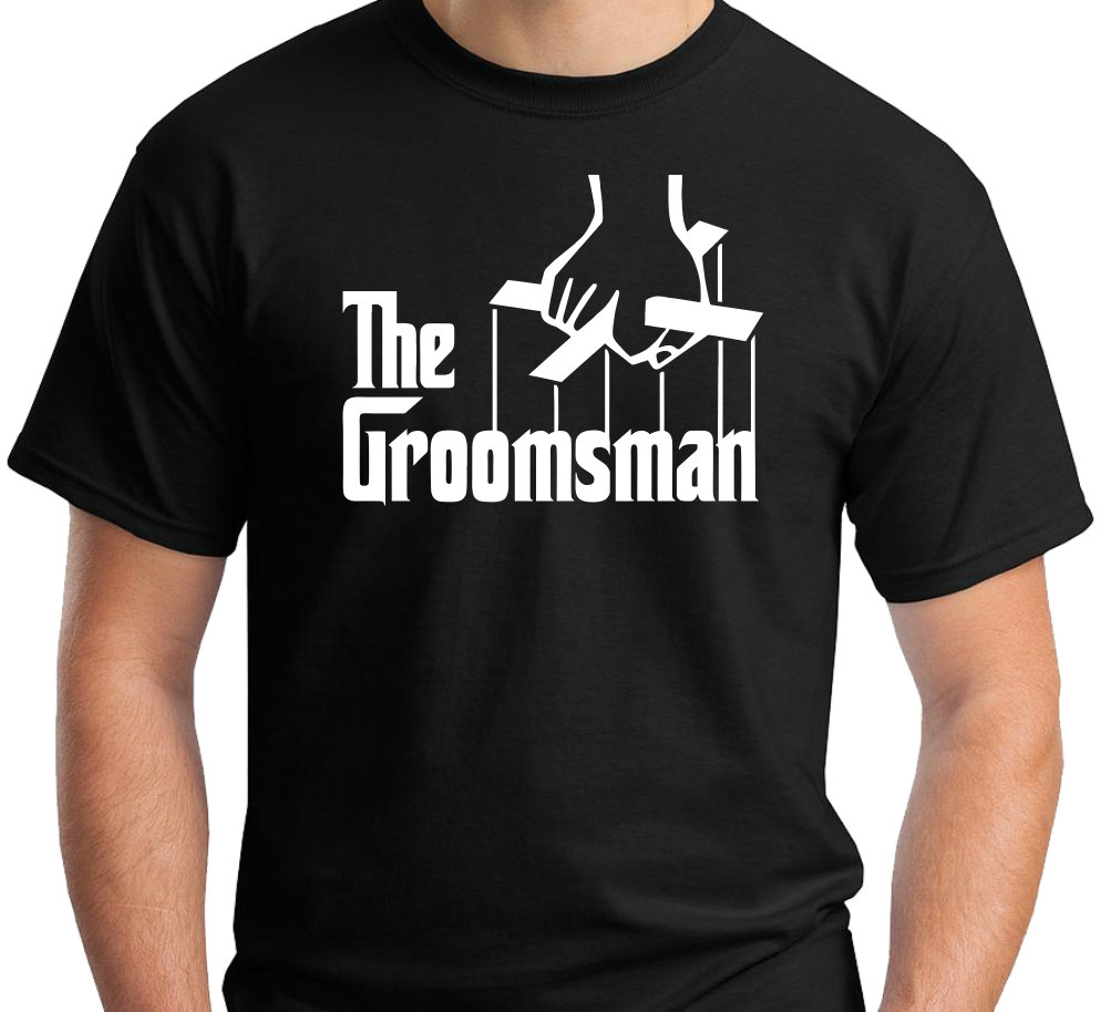 The Groomsman Tee by JedaTees