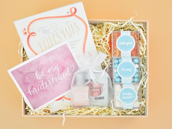 Bridesmaid Gift Set by Box Fox (buy here)