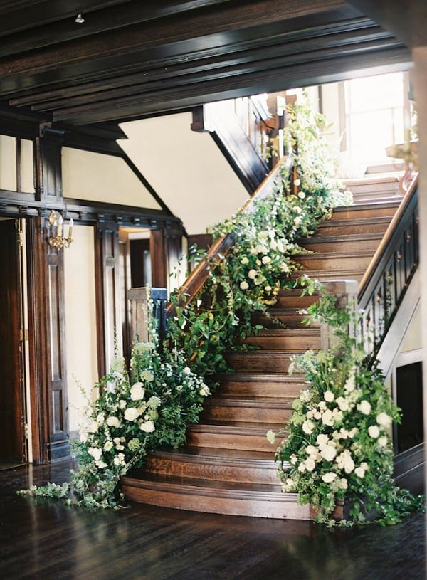 2015 wedding trends- cascading greenery