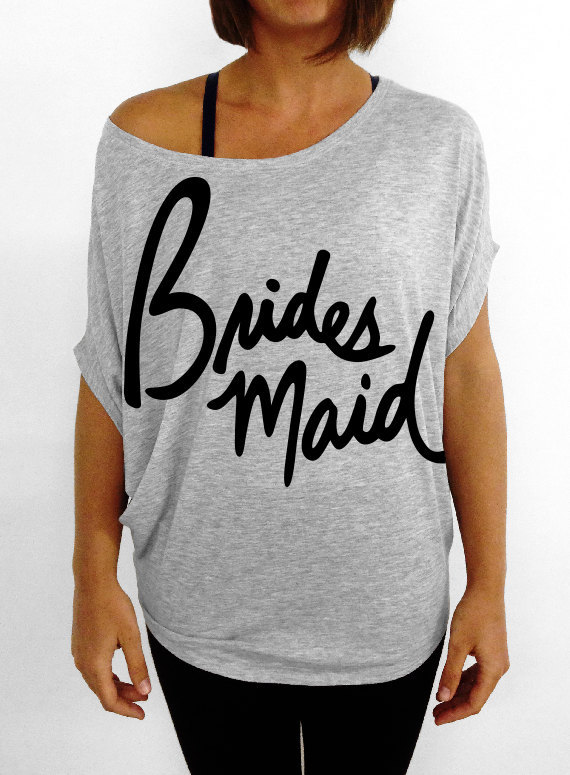 Team Bridesmaid Tee by DentzDesign