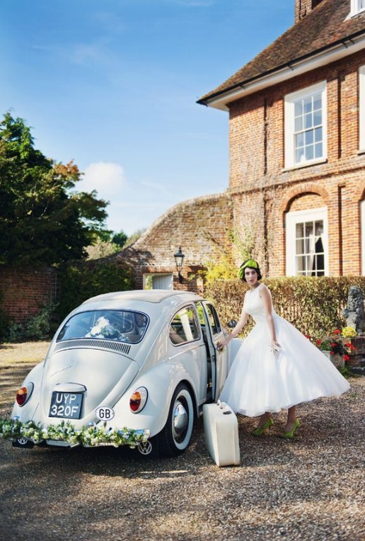 Cool Wedding Car Ideas_ Wedding Transportation 7