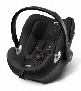 Cybex Aton Q Infant Car Seat in Charcoal