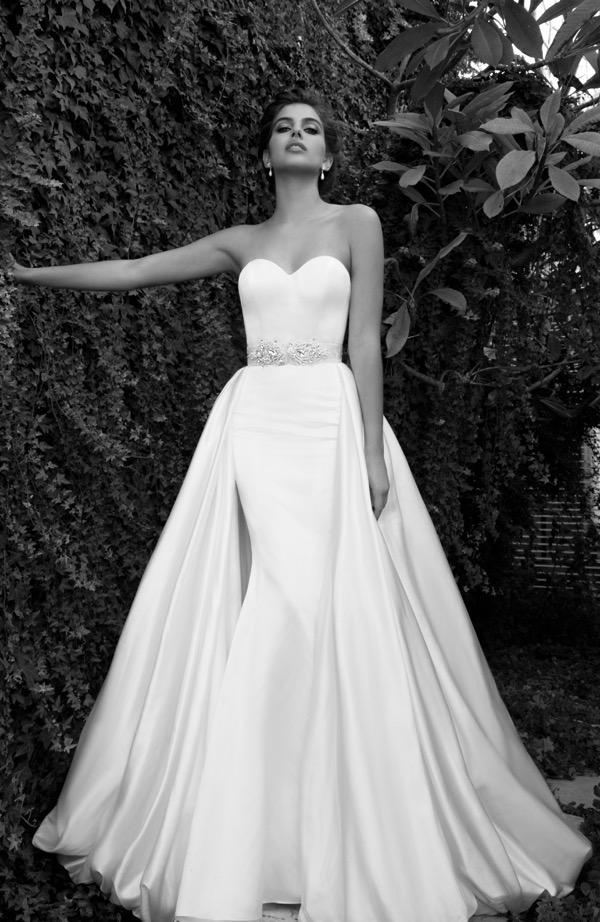 Elihav Sasson Overskirt Wedding Dress