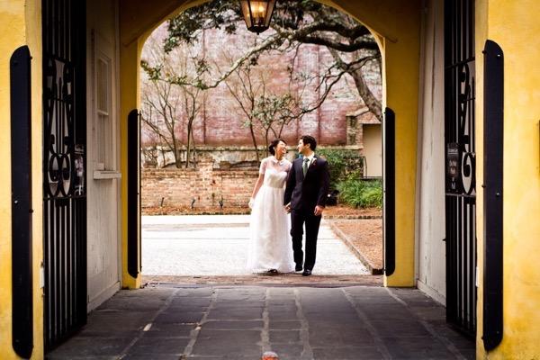 Historic Courtyard Wedding in Downtown Charleston 38
