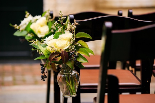Historic Courtyard Wedding in Downtown Charleston 9