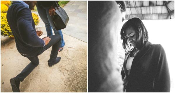 Surprise proposal by adibe photography