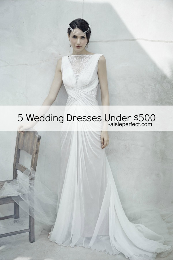 Lace Wedding Dresses Under 500 Dollars : Wedding dresses under dollars canada overlay