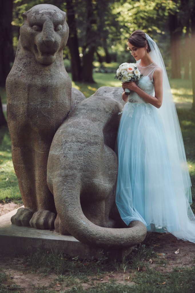 Cinderella Wedding Dress by Katya Katya Shehurina