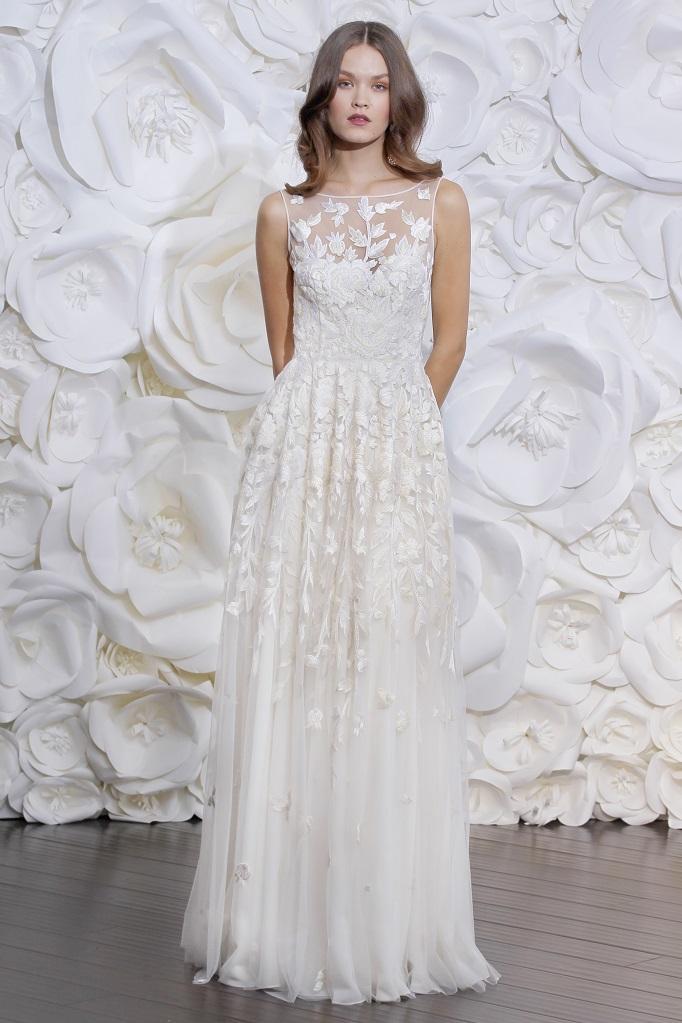 The Tuscany gown, Naaem Kahn Fall 2015.