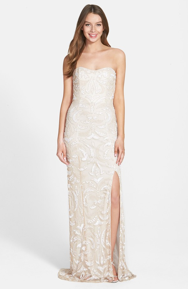 Jump Apparel Sweetheart Gown $340