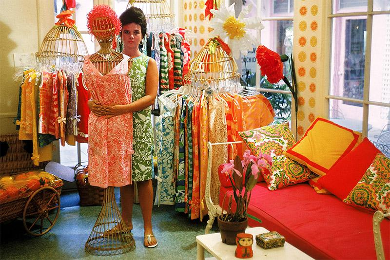 Lilly Pulitzer in 1960