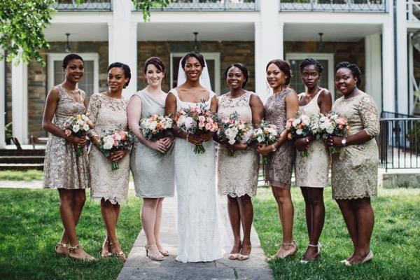 Garden Wedding at the Glenview Mansion