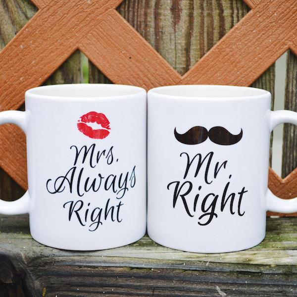 Mrs right mug