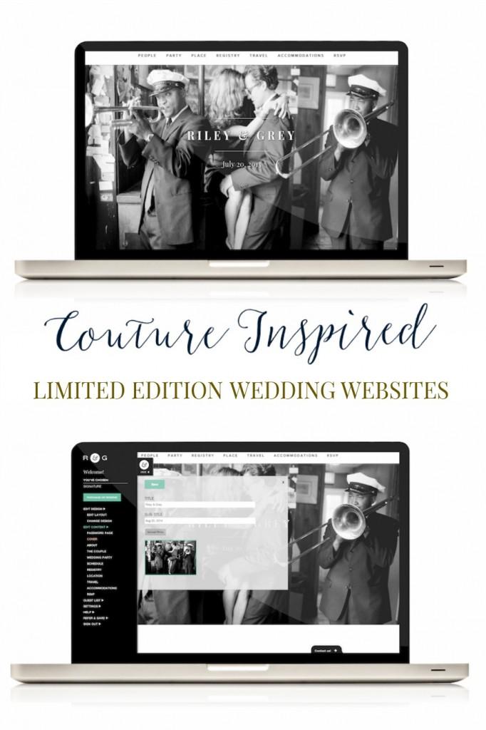 Luxury Wedding Websites by Riley & Grey