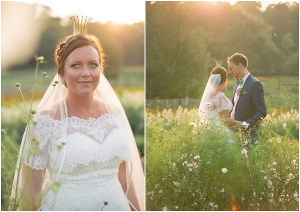 Romantic Garden Wedding in Sweden