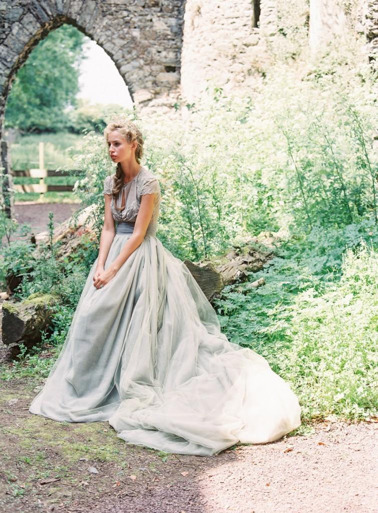 Something Blue Wedding Dresses for Cinderella