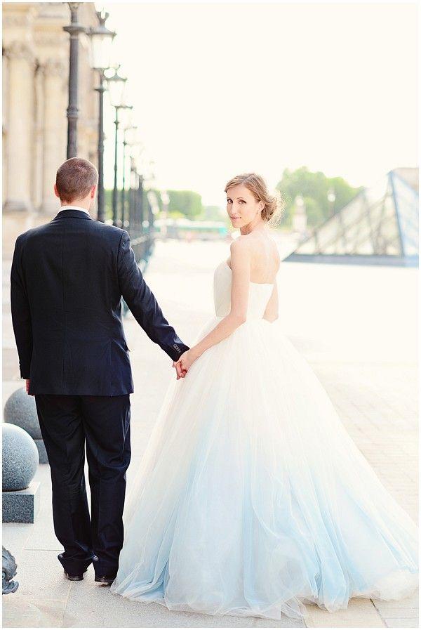 Something Blue Wedding Dresses for Cinderella _ Emm and Clau Photography