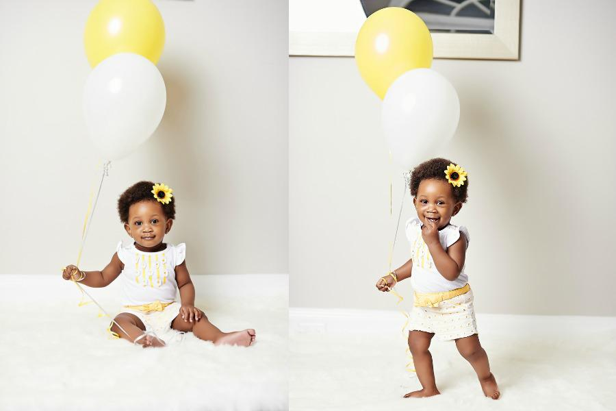 Teni Bella 1st Birthday Shoot