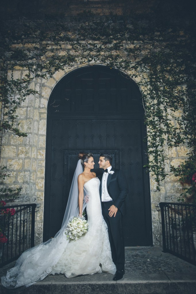 Vera Wang Leda Gown- Glamorous Wedding in Miami