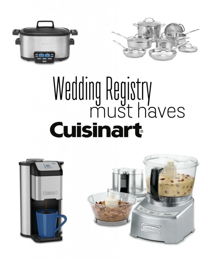 Wedding Registry Must-Haves by Cusinart