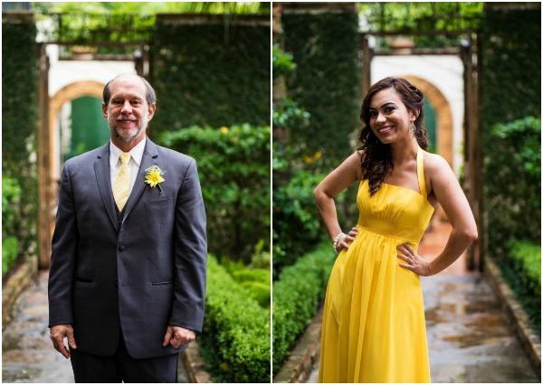 Yellow and grey wedding inspiration