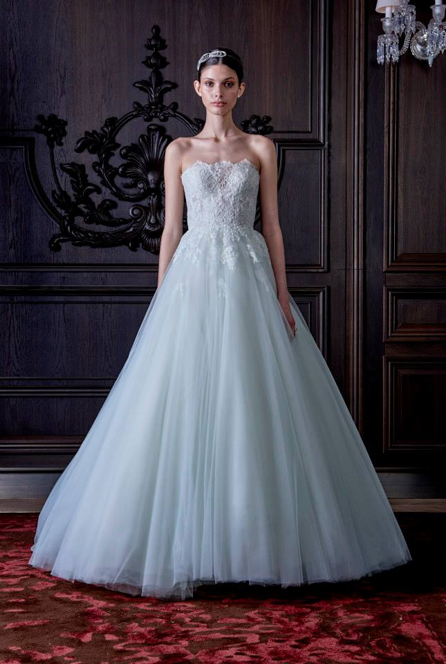 Colorful wedding dresses _ monique lhuillier