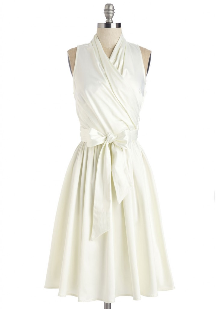 Mod Cloth little white dress