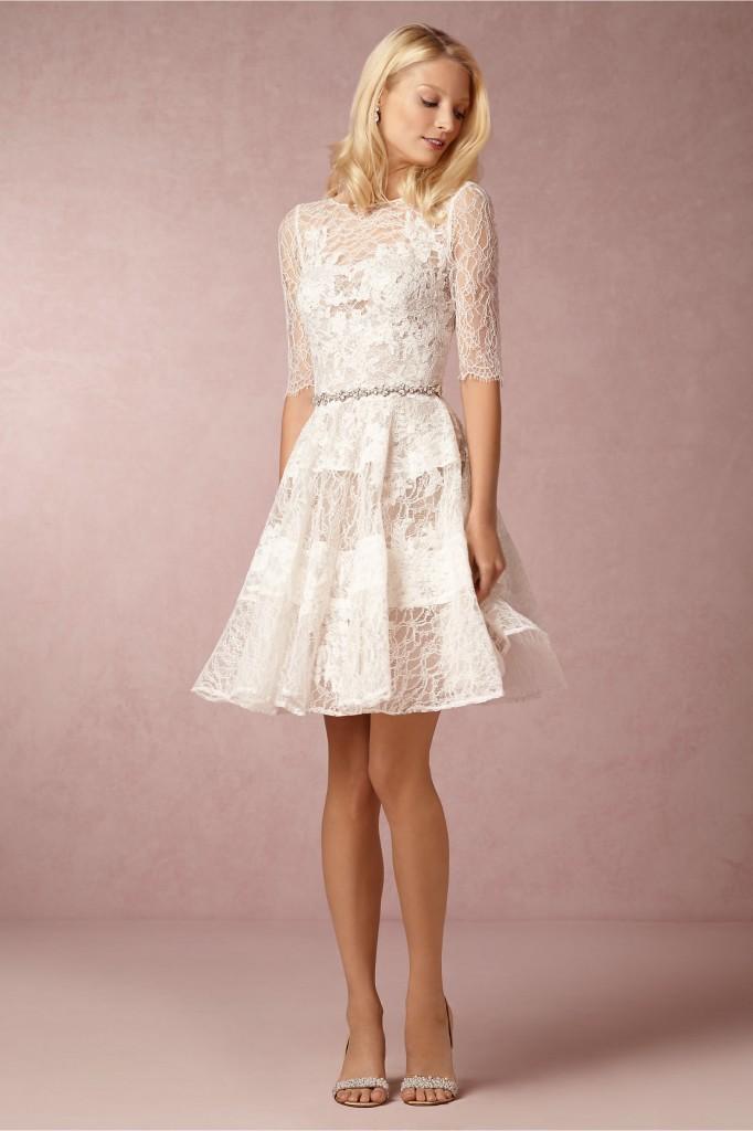Little white wedding dress by bhldn
