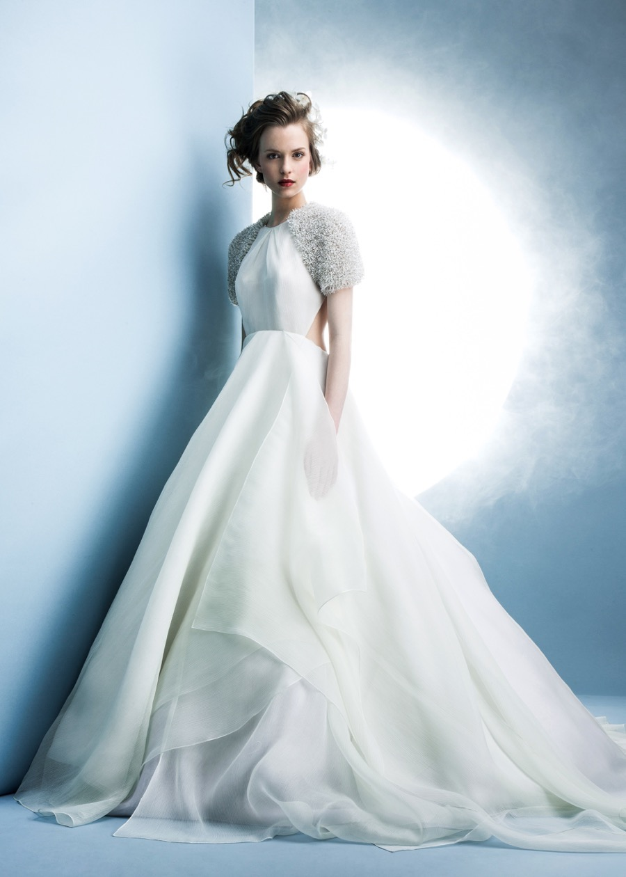 angel sanchez spring 2016 wedding dresses aisle perfect