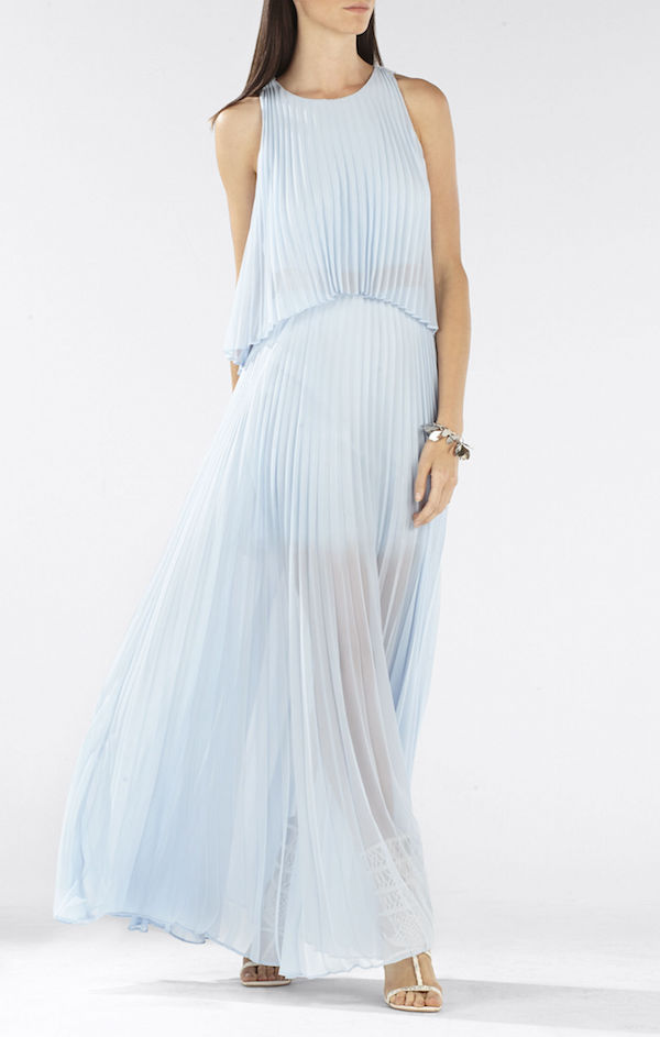 BCBG Blue Maxi Dress